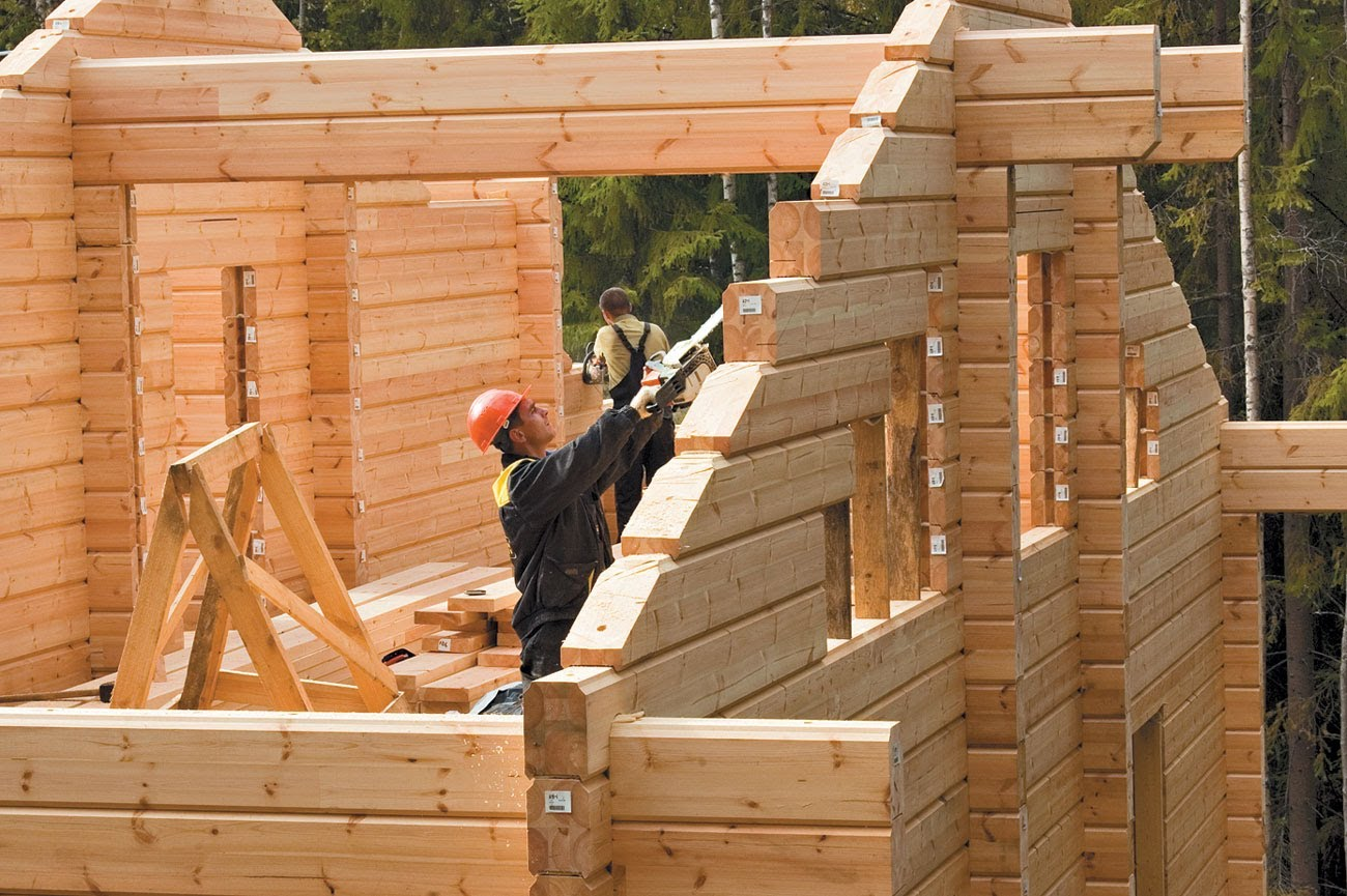 как построить деревянный дом своими руками из бревна